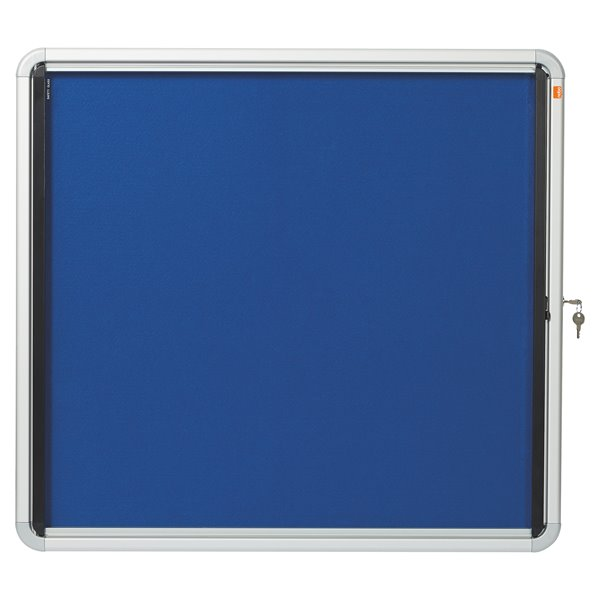 Glazed Nobo Glazed Case Internal Fabric 6x A4 Blue