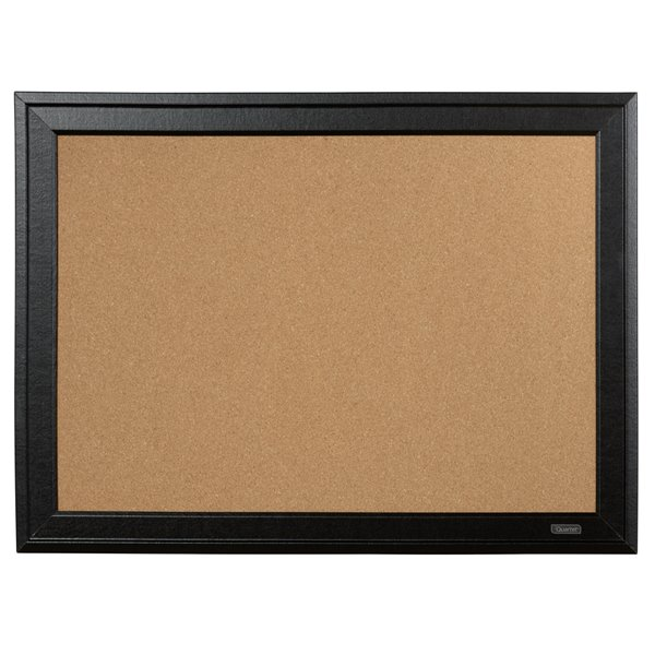 Cork Nobo Cork Board Black Frame 585x430mm