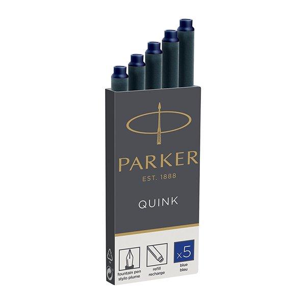 Parker Quink Ink Cartridges Permanent Blue PK5