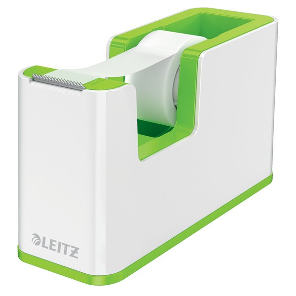 Leitz WOW Tape Dispenser Dual Colour White/Green