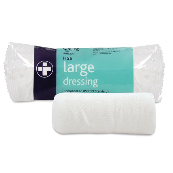 Equipment Reliance Medical HSE Large Dressing 18cm x 18cm PK10