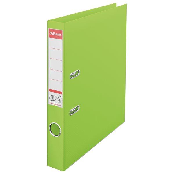 Lever Arch Files Esselte No.1 VIVIDA Lever Arch File PP A4 50mm Green PK10