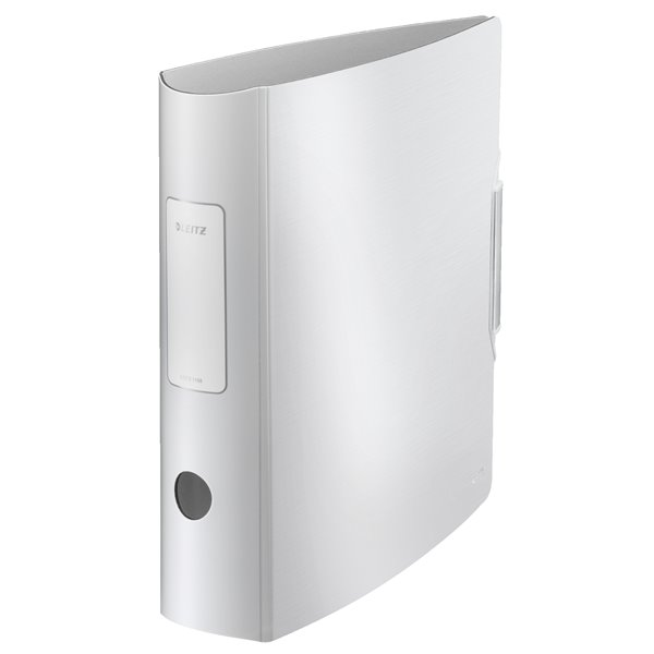 Lever Arch Files Leitz 180 Active Style LAF A4 PP 80mm Arctic White PK5