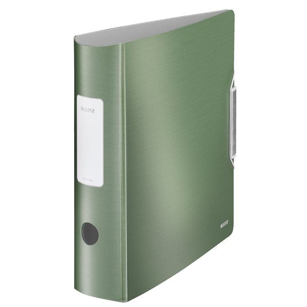 Lever Arch Files Leitz 180 Active Style LAF A4 PP 80mm Celadon Green PK5