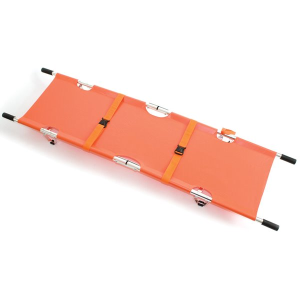 Equipment Reliance Relequip Stretcher (Orange) with Alu Alloy Frame