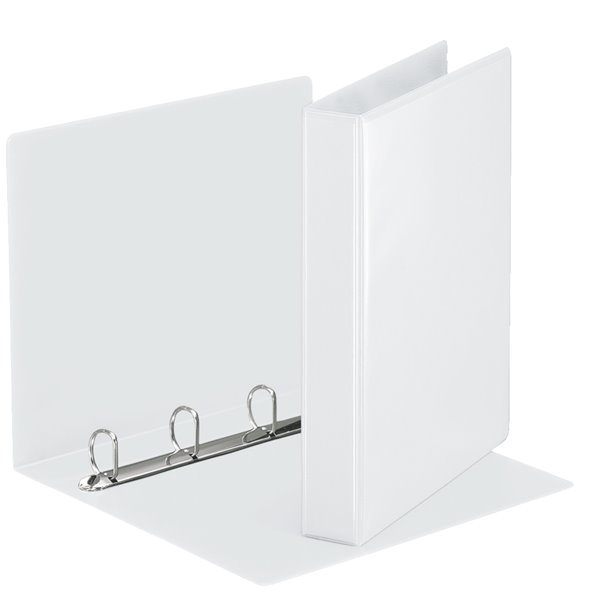 Ring Binders Esselte Essentials Pres Binder A4 30mm 4 D-Ring WH PK10