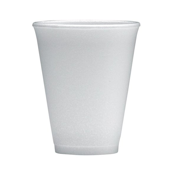 Disposable Cups & Accessories Dart Insulated Cup 7oz Capacity White (Pack 50)