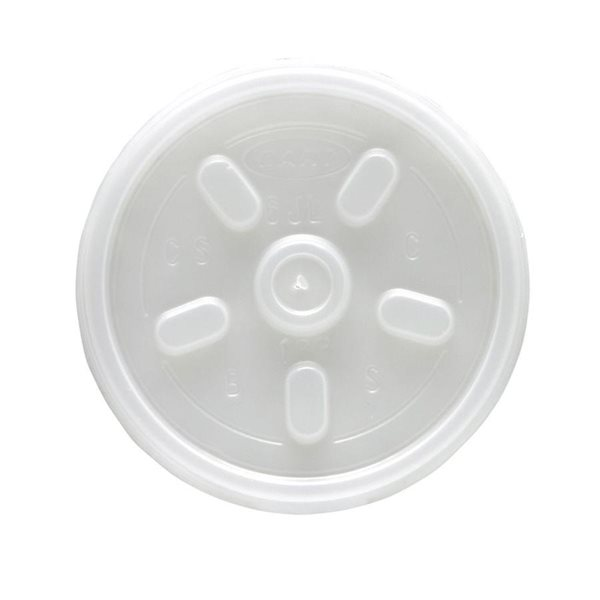 Disposable Cups & Accessories Dart Insulated Drinking Cup Lid 7oz (Pack 100)