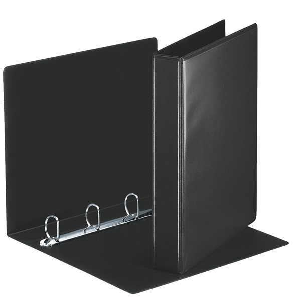 Esselte Essentials Pres Binder A4 30mm 4 D-Ring BK PK10