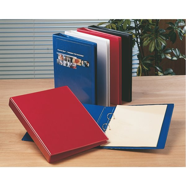 Esselte Essentials Pres Binder A4 25mm 2 D-Ring Red PK10