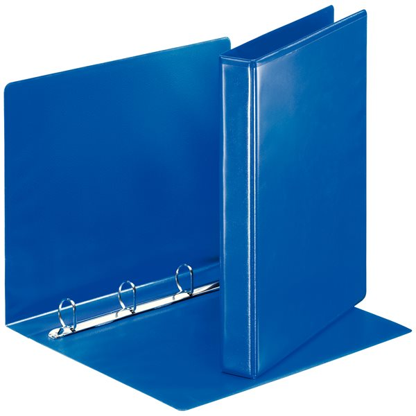 Esselte Essentials Pres Binder A4 25mm 4 D-Ring Blue PK10