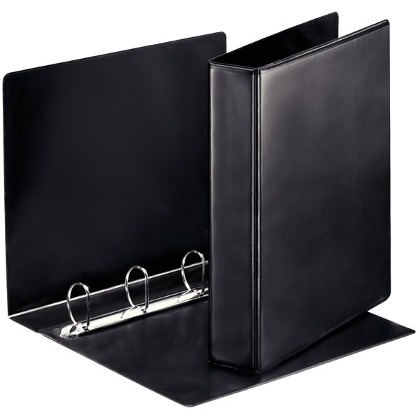 Esselte Essentials Pres Binder A4 40mm 4 D-Ring BK PK10