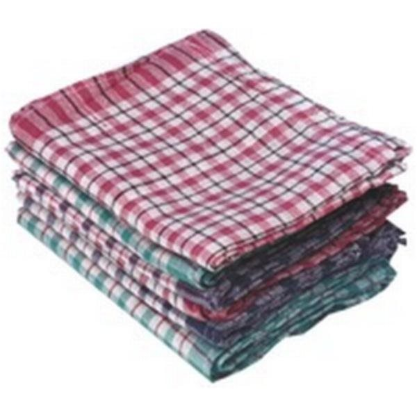 Cloths / Dusters / Scourers / Sponges Robert Scott Tea Towel Big Check Assorted (Pack 10)