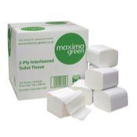 Toilet Tissue & Dispensers Maxima Toilet Tissue 2Ply 250Sheet (Pack 36)