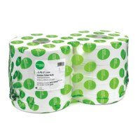 Toilet Tissue & Dispensers Maxima Jumbo Toilet Roll 2Ply White (Pack 6)