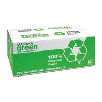 Hand Towels & Dispensers Maxima Green 1Ply Hand Towel C Fold Green PK15