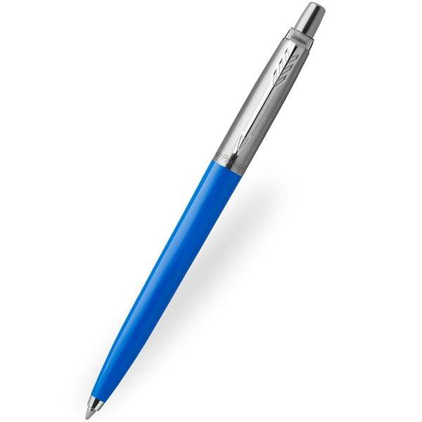 Ball Point Pens Parker Medium Ballpoint Jotter Blue Barrel Blue Ink Pen