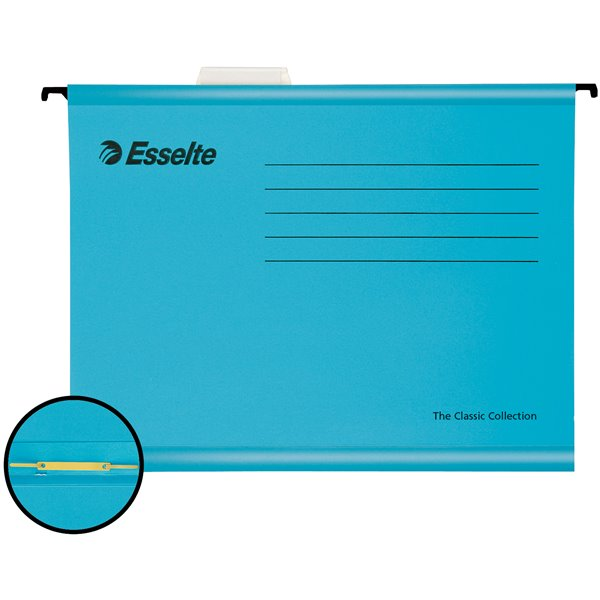 Suspension File Esselte Pendaflex Reinforced Susp File A4 Blue BX10
