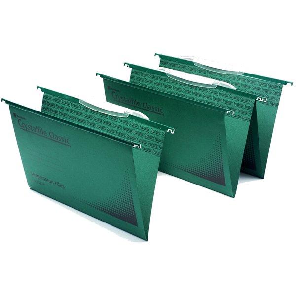 Suspension File Crystalfile Classic Susp File Square Base Foolscap BX50