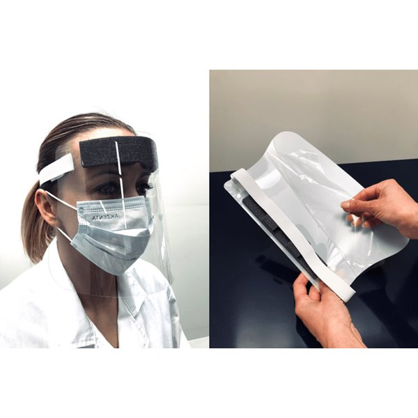 Eye / Face Protection Exacompta ExaScreen Individual Protective Visor BX10