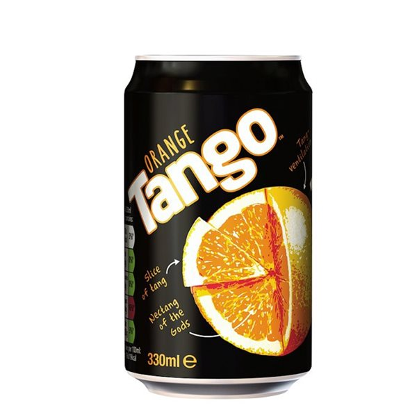 Cold Drinks Tango 330ml Cans (Pack 24)