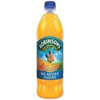 Cold Drinks Robinsons NAS Orange 1 Litre (Pack 12)