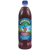 Cold Drinks Robinsons NAS Apple n Blackcurrant 1L (Pack 12)