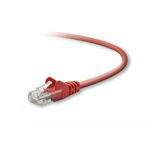 Cables / Leads / Plugs / Fuses Belkin Cat5e UTP Patch Cable Red 2m