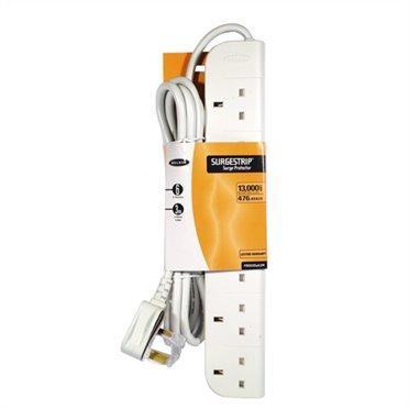 Cables & Adaptors Belkin E Series 6 Socket 3m