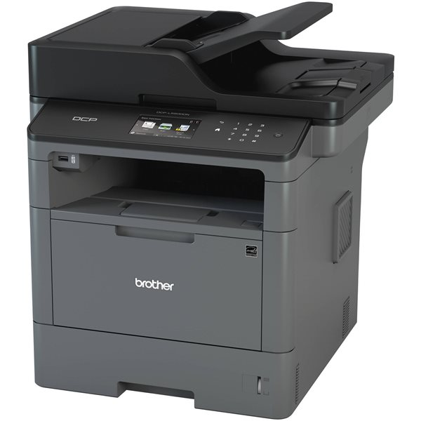 Multifunction Machines Brother DCPL5500DN A4 Mono Multifunction Printer
