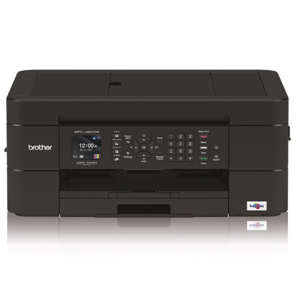 Laser Printers Brother MFCJ491DW 4 in 1 Inkjet Printer