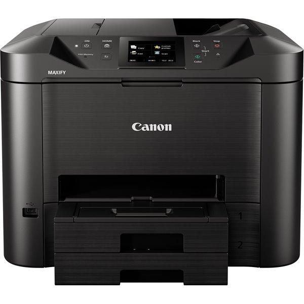 Inkjet Printers Canon MAXIFY MB5455 A4 Colour Inkjet Printer