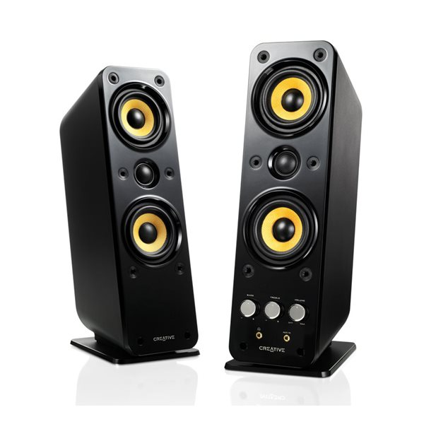 GIGAWORKS T40 SII 2.0 BLACK SPEAKERS