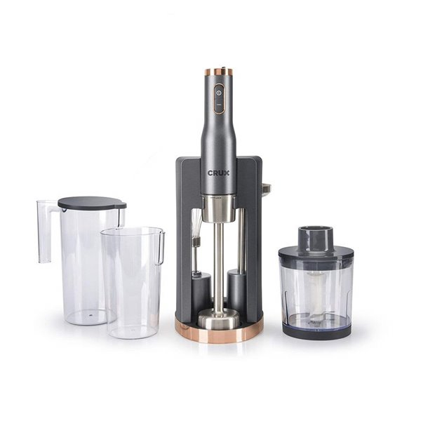 Tea / Coffee / Sugar Storage Crux 6 in 1 Hand Blender Set 800W