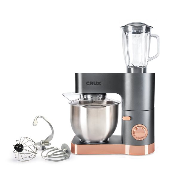 Tea / Coffee / Sugar Storage 1200W Power Stand Mixer with Blender Jug