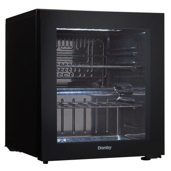 Tea / Coffee / Sugar Storage 17 Bottles 45L Black Wine Cooler