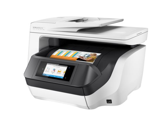 Inkjet Printers HP OfficeJet Pro 8730 All in One Printer