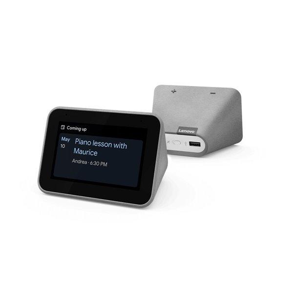 Desktop Lenovo Smart Clock with Google Assistant