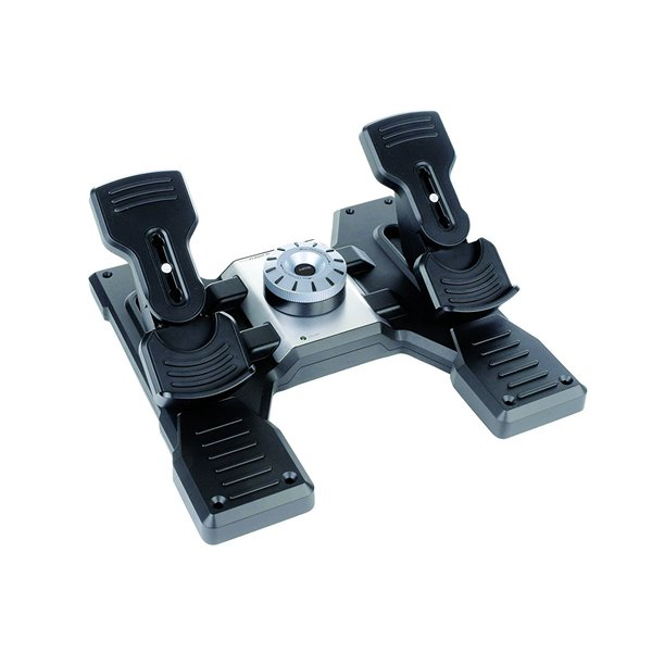 Wireless Logitech G Saitek Pro Flight Rudder Pedals