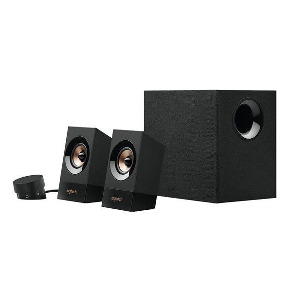 Logitech Z533 60W Multimedia Speaker System UK Black