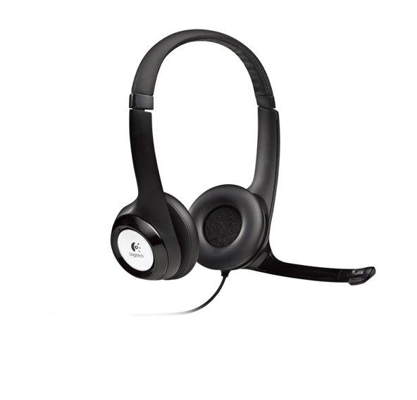 Headsets Logitech USB Headset H390