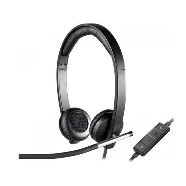 Headsets Logitech USB Headset Stereo H650E  USB
