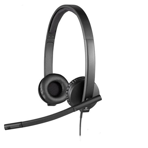 Headsets Logitech USB Headset H570E Stereo