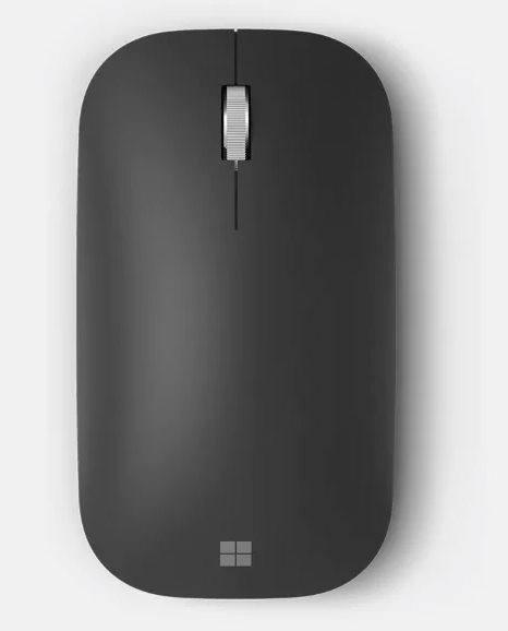 Wireless Microsoft Modern Mobile Mouse Black Bluetooth