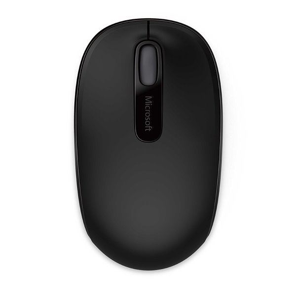 Wired Microsoft Wireless Mobile Mouse 1850 Black