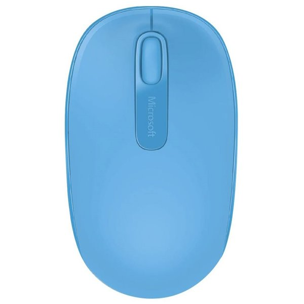 Wired Microsoft Wireless Blue Mouse 1850