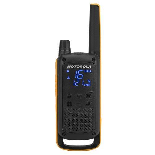 Radio Communications Motorola T82 Extreme Walkie Talkie Radio 4 Pack