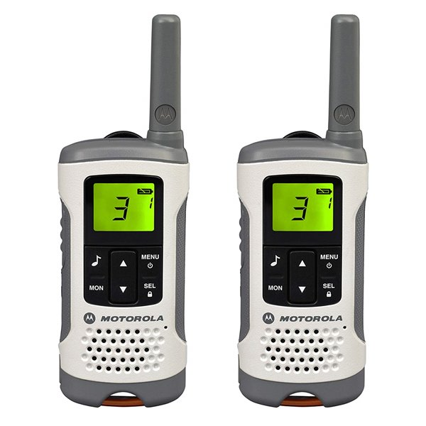 Radio Communications Motorola TLKR T50 2 Walkie Talkie Twin Pack