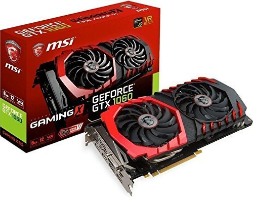 Internal Computer Expansion MSI GTX 1060 Gaming X 6GB Graphics Card