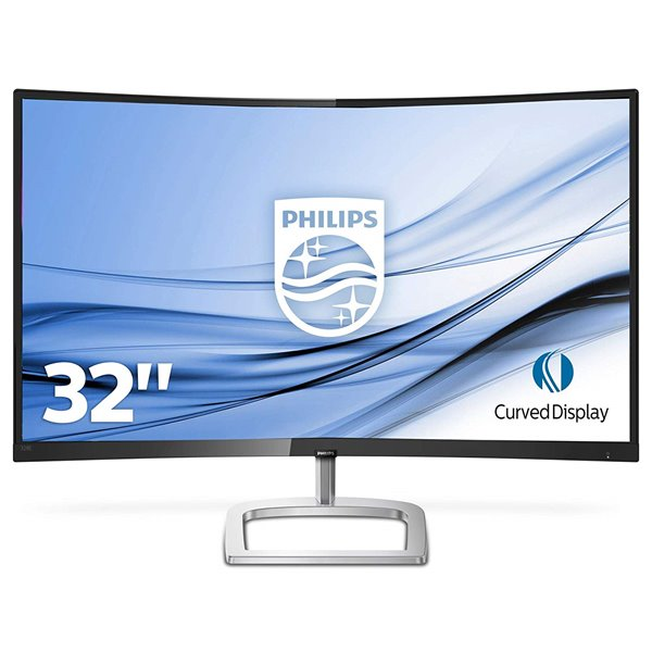 Monitors Philips 328E9QJAB 31.5in Curved Monitor